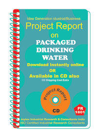 Packaged Drinking Water I project Report eBook