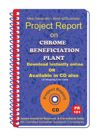 Chrome Benification Plant manufacturing Project Report eBooK