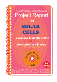 Solar Cells manufacturing Project Report ebook