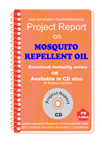 Mosquito Repellent Oils manufacturing project Report eBook