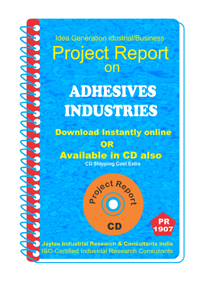 Adhesive Industries manufacturing Project Report eBook