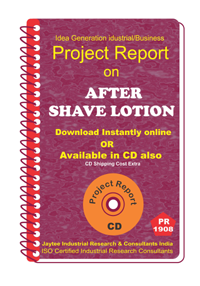 After Shave Lotion Project Report eBook