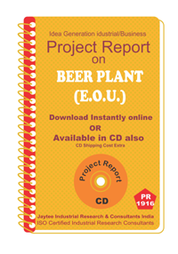 Beer Plant (E.O.U) Manufacturing Project report eBook
