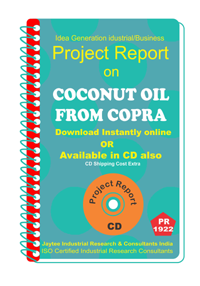 Coconut Oil From Copra Project Report eBook