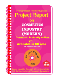 Cosmetic Industries ( Modern)Manufacturing Project Report eBook