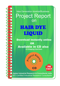 Hair Dye Liquid manufacturing Project Report eBook