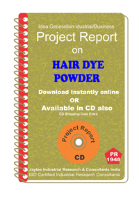 Hair Dye Powder manufacturing Project Report eBook