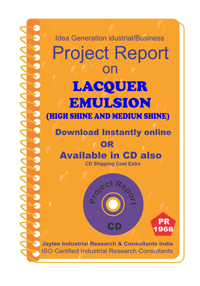 Lacquer Emulsion (High Shine and Medium Shine) manuf. PR eBook