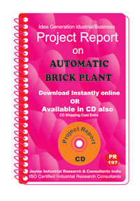 Automatic Brick Plant IV establishment Project Report ebook