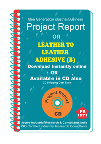 Leather to Leather Adhesive (B) Project Report eBook