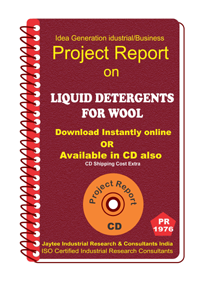 Liquid Detergent For Wool manufacturing Project Report eBook