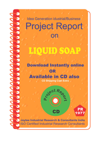 Liquid Soap Manufacturing Project Report eBook