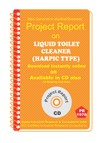 Liquid Toilet Cleaner (Harpic Type) Project Report eBook