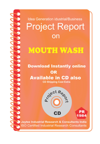 Mouth Wash Manufacturing Project Report eBook