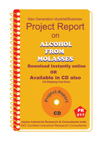 Alcohol From Molasses manufacturing Project Report eBook
