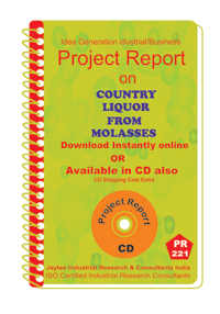 Country Liquor from Molasses Project Report eBook