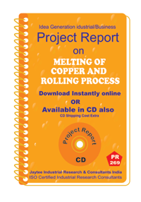 Melting of Copper and Rolling process manufacturing Ebook