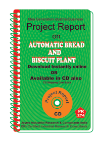 Automatic Bread and Biscuit Plant manufacturing Ebook