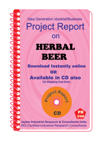 Herbal Beer manufacturing project Report eBook