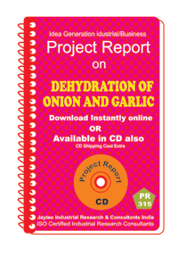 Dehydration of Onion and Garlic manufacturing eBook