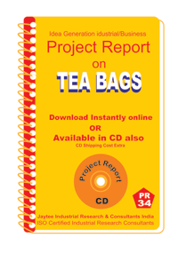 Tea Bags Manufacturing Project Report eBook