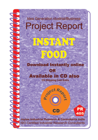 Instant Food manufacturing Project Report eBook