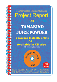 Tamarind Juice Powder manufacturing Project Report eBook