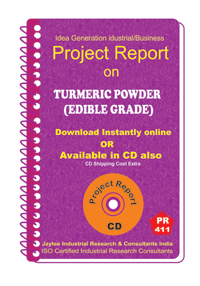 Turmeric Powder (Edible Grade)manufacturing Project Report eBook