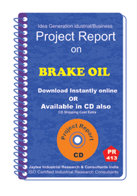 Brake Oil manufacturing Project Report eBook