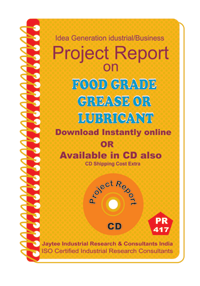 Food Grade Grease Or Lubricant manufacturing eBook
