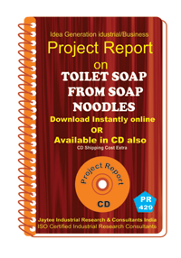 Toilet Soap From Soap Noodles manufacturing Project Report eBook