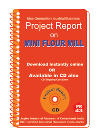 Mini Flour Mill Manufacturing Project Report eBook