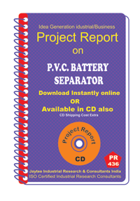 P.V.C Battery Separator Manufacturing Project Report eBook