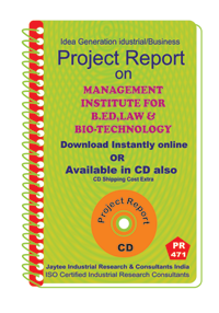 Management Institute for B.ED, Law and Bio Technology eBook