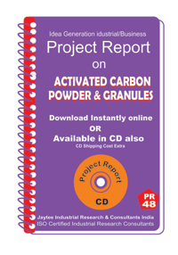 Activated Carbon Powder and Granules Manufacturing eBook