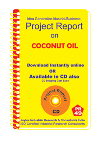 Coconut Oil Manufacturing Project Report eBook