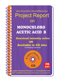 Monochloro Acetic Acid B Manufacturing Project Report eBook