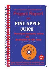 Pine Apple Juice Manufacturing Project Report eBook