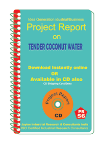 Tender Coconut Water Manufacturing Project report eBook