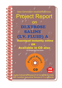 Dextrose Saline (I.V.Fluid )I manufacturing Project Report eBook