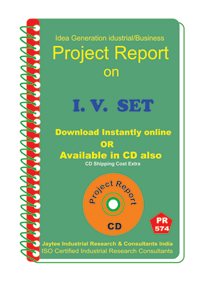 I.V.Set manufacturing Project Report eBook