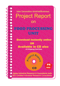 Food Processing Unit III manufacturing project Report eBook