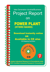 Power Plant ( Hydro Based ) Establishment Project Report ebook