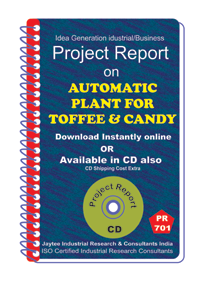 Automatic Plant for Toffee and Candy manufacturing eBook