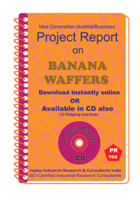 Banana Waffers manufacturing Project Report eBook