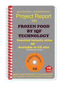 Frozen Food by 1Qf Technology manufacturing Project Report eBook