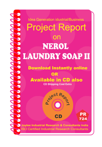 Nerol Laundry Soap Part B Manufacturing Project Reports eBook