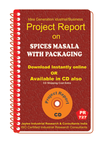 Spices Masala With Packaging II Project Report ebook