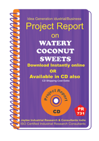 Watery coconut Sweets manufacturing eBook