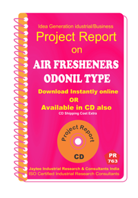 Air Freshener Odinal Type manufacturing Project Report eBook